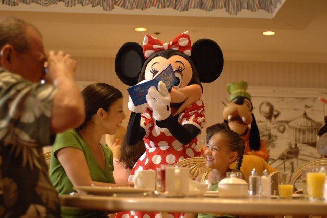dining minnie